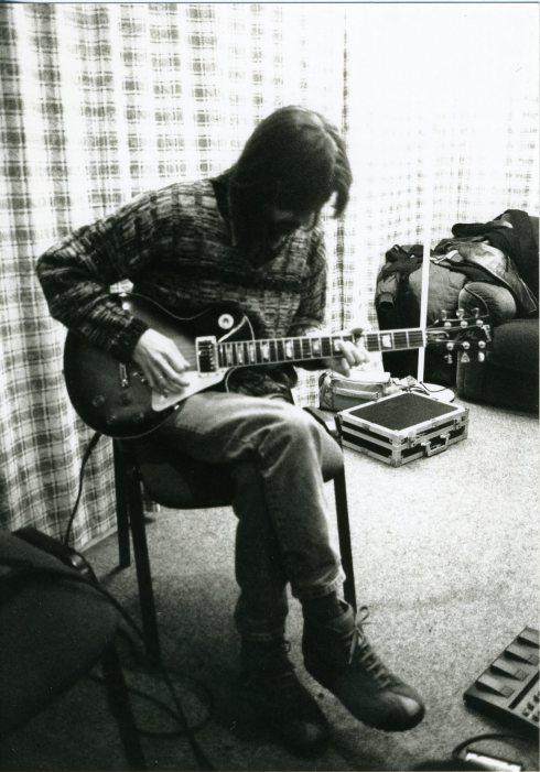 Tim Tirelli, ordinary bluesman (foto di repertorio)
