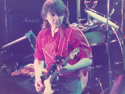 MICK RALPHS  -Wembley 1979 photo by Addy Nijenboer