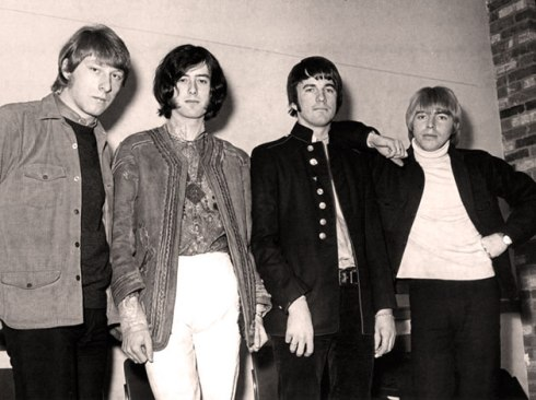 THE YARDBIRDS 1967 - da sx a dx Dreja, Page, McCarty, Relf