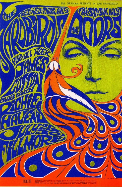 yardbirds fillmore 67