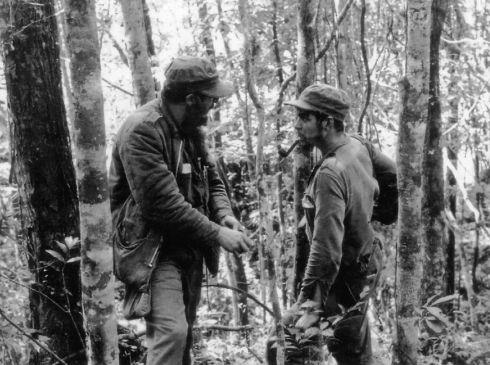Fidel & Che - Sierra Maestra 8 ottobre 1957 (AFP)
