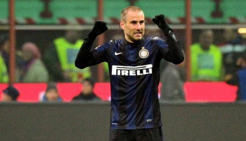 Inter-Mila 1-0 goal di Palacio