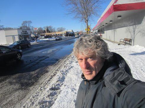 Uomo del sud a Detroit -  Paolo Barone, Michigan, dicembre 2013