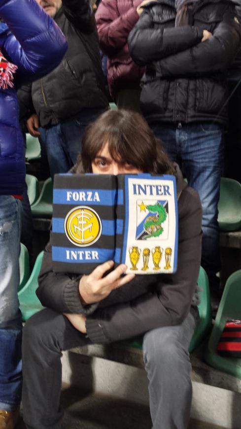 Tim Tirelli allo stadio: SASSUOLO-MILAN 4 - 3  - foto della groupie