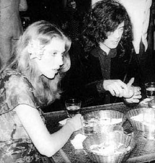 Bebe Buell & Jimmy Page