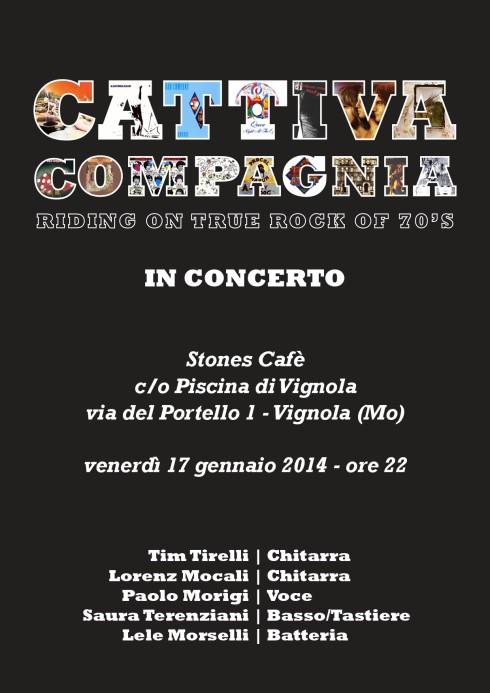 CC Locandina Stones cafè 2014