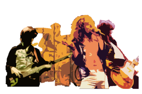 Led Zeppelin draw