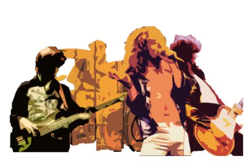 Led Zeppelin draw