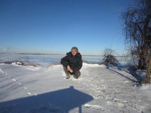 Polbi sul lago Erie - gennaio 2014