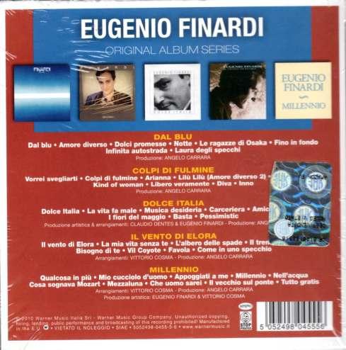 Eugenio Finardi Original album classics