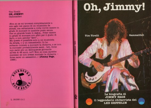 TIM TIRELLI OH JIMMY BOOK 1987   012