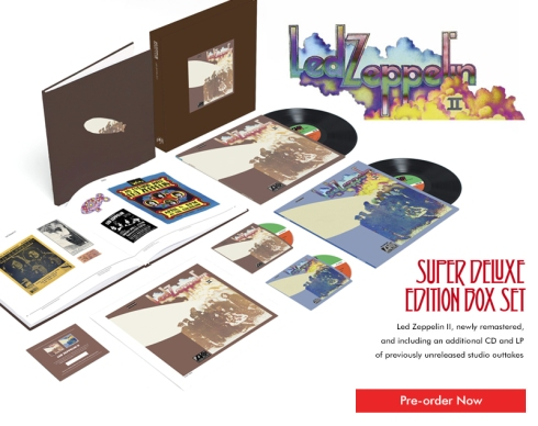 LED ZEPPELIN II DELUXE EDITION