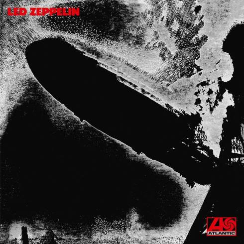 Led Zeppelin I negative