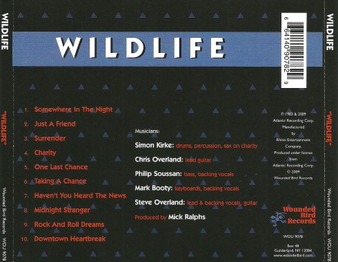 Wildlife - Wildlife - Back