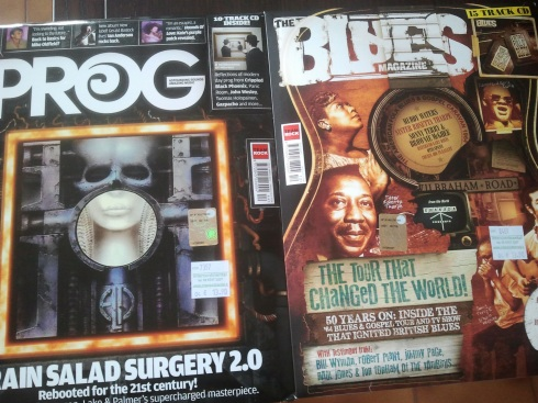 Prog mag ELP - Blues mag Uk Tour