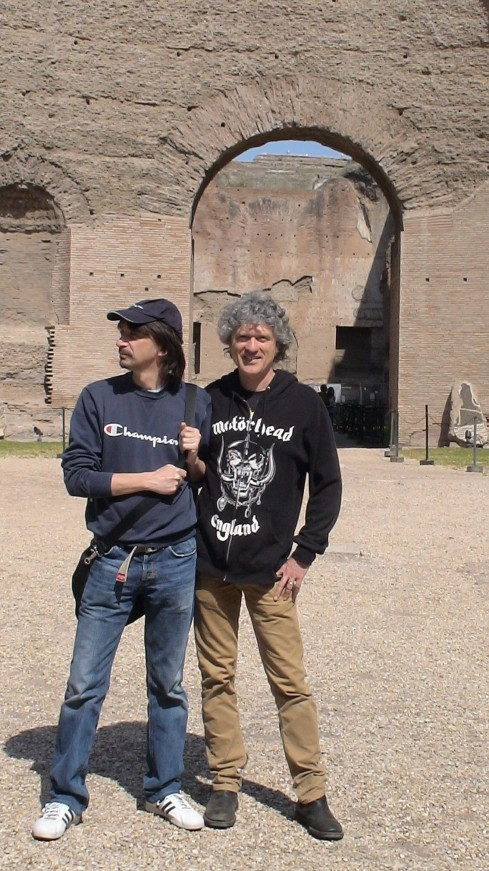 Tim & Polbi: when in Rome (foto della groupie)