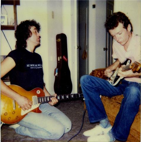 Jimmy Page & Mason Ruffner 1985