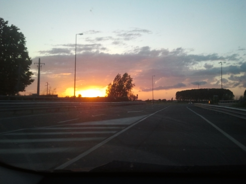 Borgo Massenzio bound: the sky is burnin' (foto di TT)