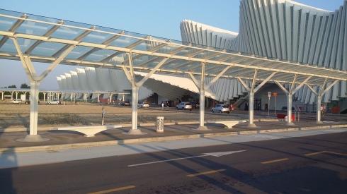 Reggio Emilia - La Stazione MedioPadana dell'alta velocità (foto di Tim Tirelli)