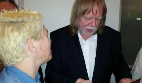 Saura Terenziani & Rick Wakeman - Schio 30-05-2014 (Foto di TT)