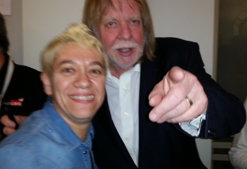 Saura Terenziani e Rick Wakeman - Schio 30 may 2014 (photo TT)