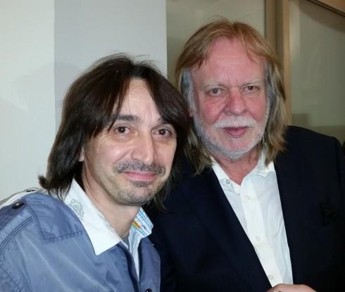 Tim Tirelli & Rick Wakeman - Schio 30-05-2014 (foto di Saura Terenziani)