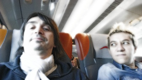 Selfy Tonk Train Blues - Tim & la groupie su Italo