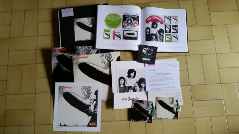 LED ZEPPELIN I super deluxe edition (photo Tim Tirelli)