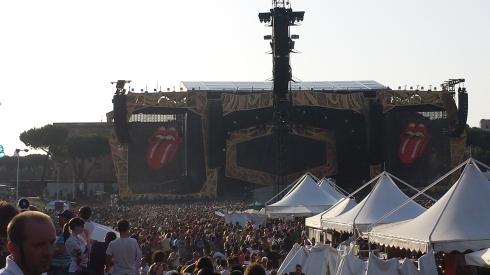 Rolling Stones Circo Massimo 2014 (foto di TT)