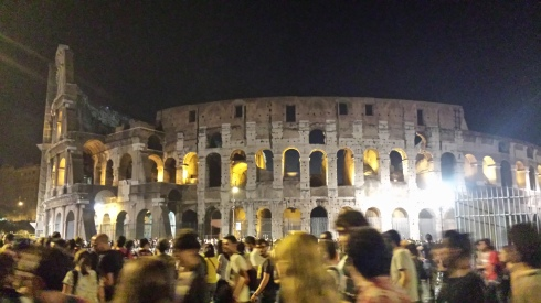 Roma, Anfiteatro Flavio, 22-6-2014 after the Stones (foto di Saura Terenziani)