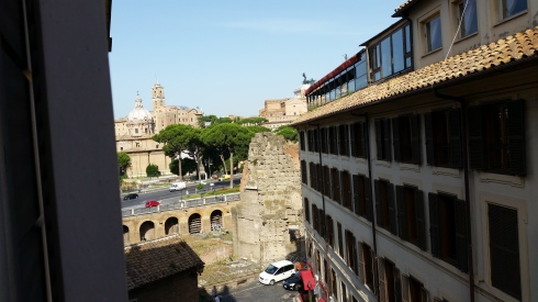 Rome from the window (foto di TT)