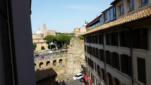 Rome from the window (foto di TT)