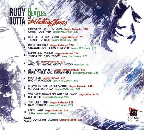 Rudy Rotta Beatles versus Rolling Stones retro