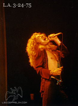 LED ZEPPELIN 3-24-75 b