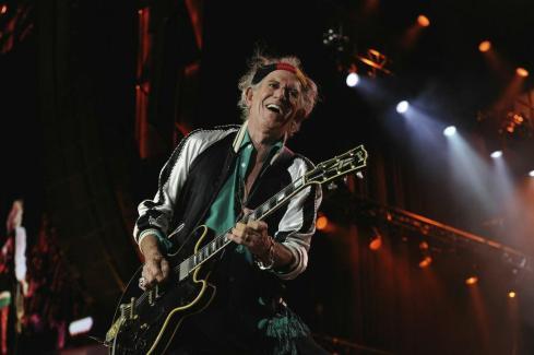 Rolling Stones Circo Massimo Roma KEITH RICHARDS 22-06-2014