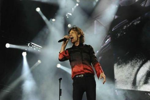 Rolling Stones Circo Massimo Roma MICK JAGGER 22-06-2014