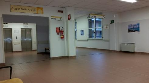 Arcispedale Santa Maria Nuova - Regium Lepidi - sala d'attesa (foto di TT)