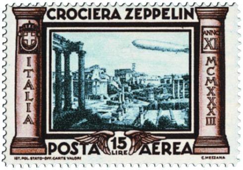 Crociera Zeppelin francobollo
