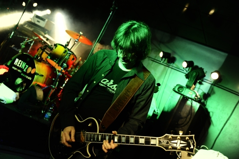 CATTIVA COMPAGNIA live at Stones Cafè 17-01-2014 - Tim Tirelli (Foto Simone Neganti)