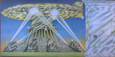 Led Zeppelin II - interno