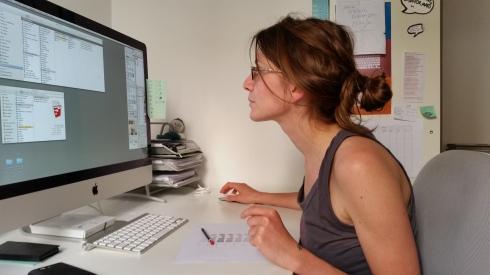 Sarwooda at work -  july 2014 (foto di TT)