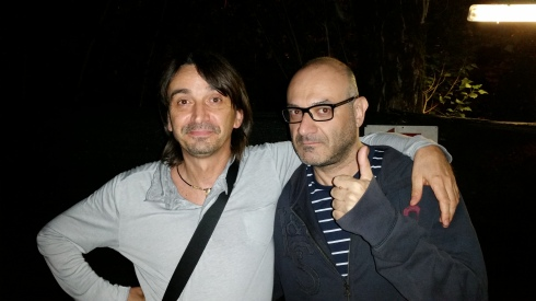 Tim Tirelli & Mel Previte Mandrio 8/7/2014 (foto di saura Terenziani)