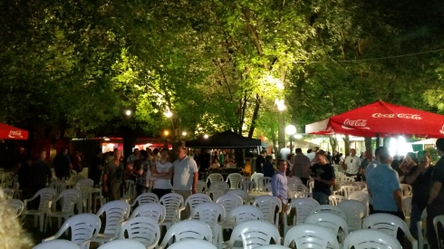 La location della festa PD di Mandrio (Correggio) -foto TT