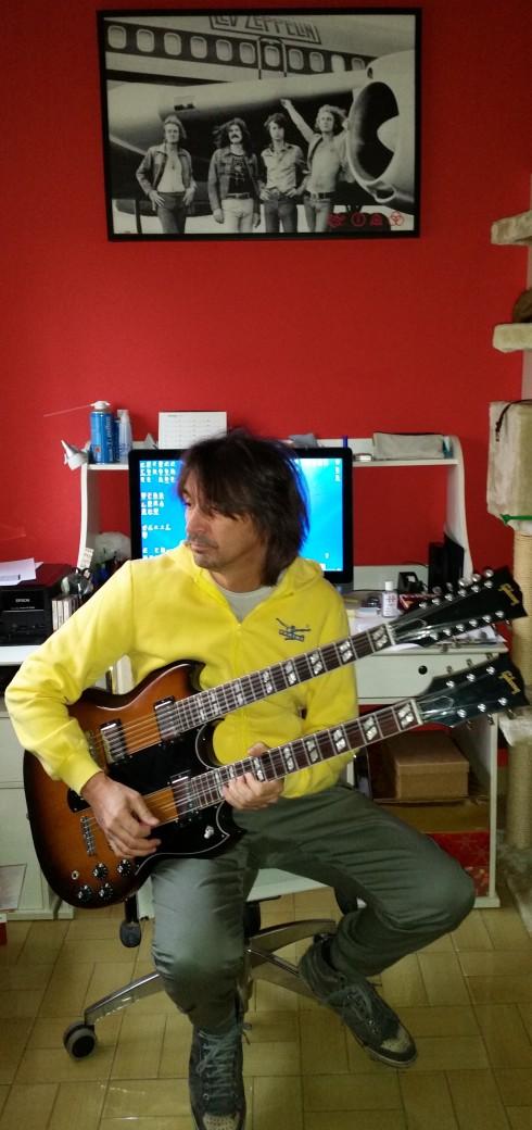August 2014: Tim plays Doublene - foto della groupie