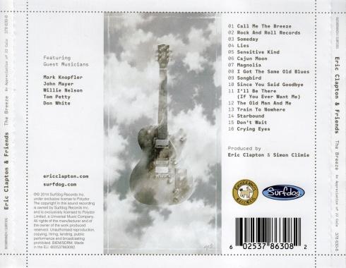 Eric Clapton & Friends - The Breeze An Appreciation Of JJ Cale - Back