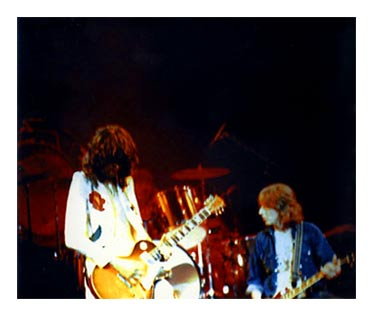 Led Zep Fort Worth 1977 - JP & Mick Ralphs