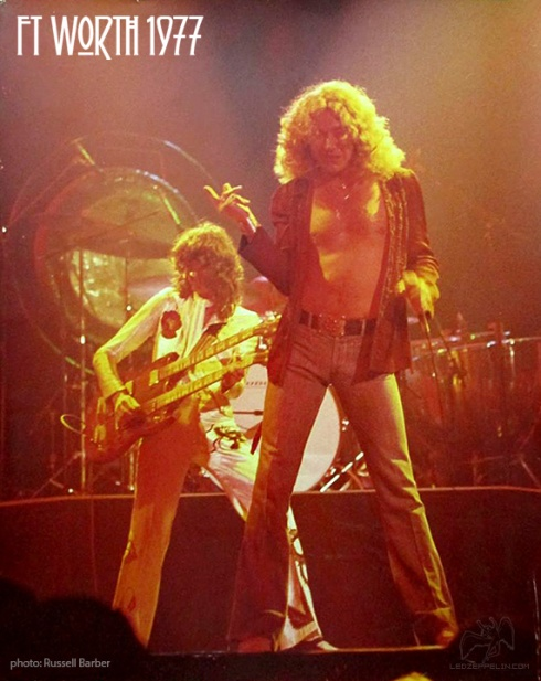 Led Zep Fort Worth 1977