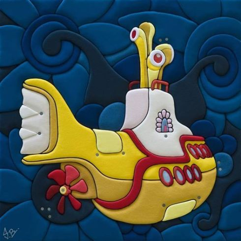 Stefano Bressani yellow submarine