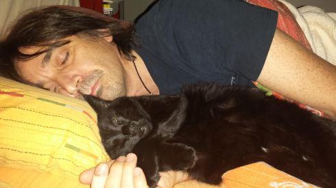 Tim & Palmiro sleeping tight - foto della groupie.