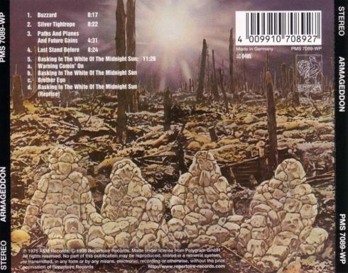 Armageddon - Armageddon - Back